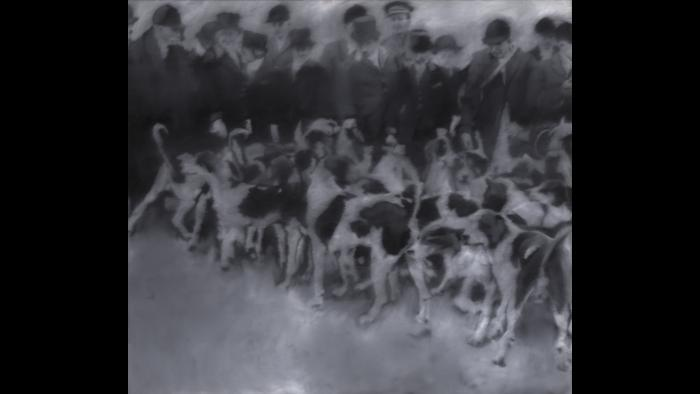 Gerhard Richter. Hunting Party, 1966. (Courtesy of the Art Institute of Chicago, Gift of Edlis/Neeson Collection)
