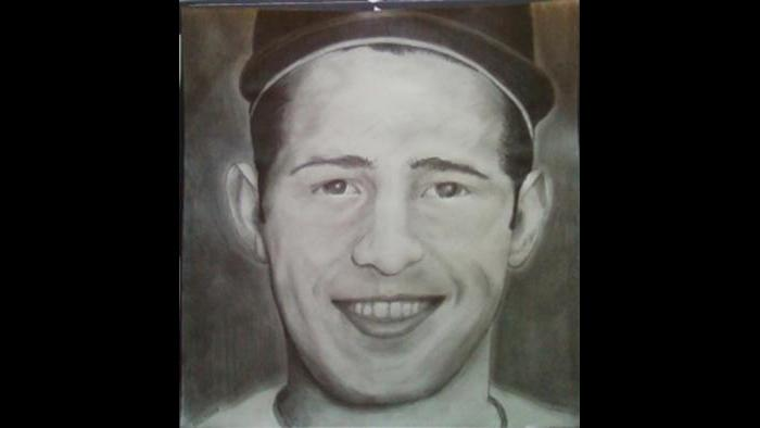 """Ron Santo: """"God bless Ron Santo. That was his rookie year. He knew he had diabetes and he didn't want to tell anybody. When his insulin got low, he would see three balls when he was at bat and he would aim for the one in the middle. He kept it a secret from his teammates and he persevered. That's why he is so beloved in this city. He wasn't the greatest player but he had the biggest heart."""""""