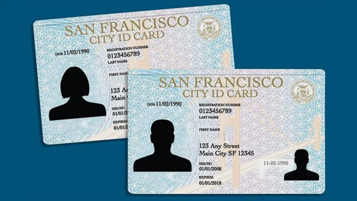 Chicago's municipal ID will be based on San Francisco's city ID card, said Chicago's City Clerk Anna Valencia. (Credit: San Francisco Examiner)
