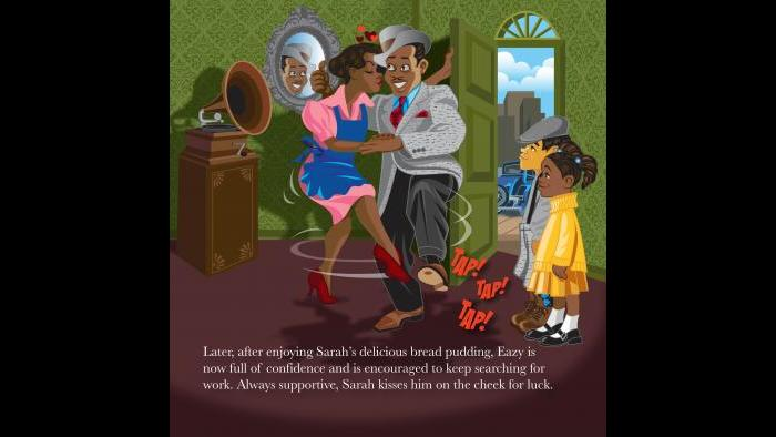 """Illustration from """"The Soul of Harmony"""" children's book series. (Courtesy of Craig Rex Perry and Cedar Grove Publishing)"""