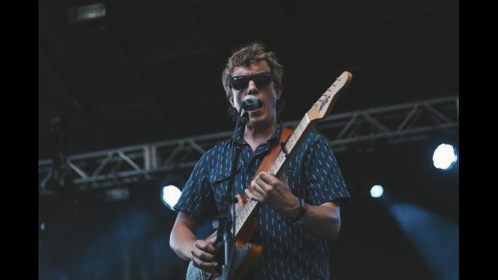 Steve Gunn performs at Pitchfork in 2015. (Matt Lief Anderson / Pitchfork)