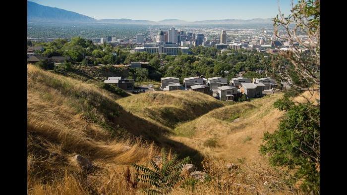 Mormon leader Joseph Smith had his religion in mind when planning Salt Lake City, UT.