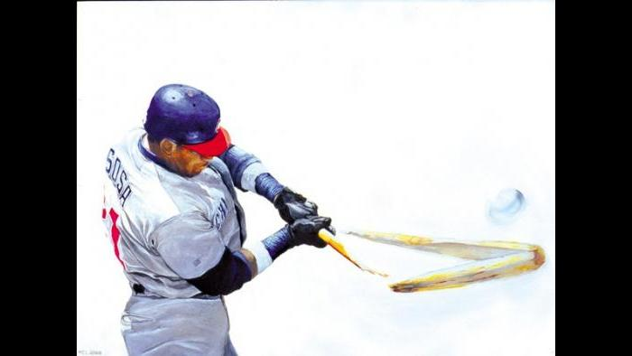 """Sammy Sosa: """"He was pretty notorious for hitting more baseballs out of the park than most people."""""""