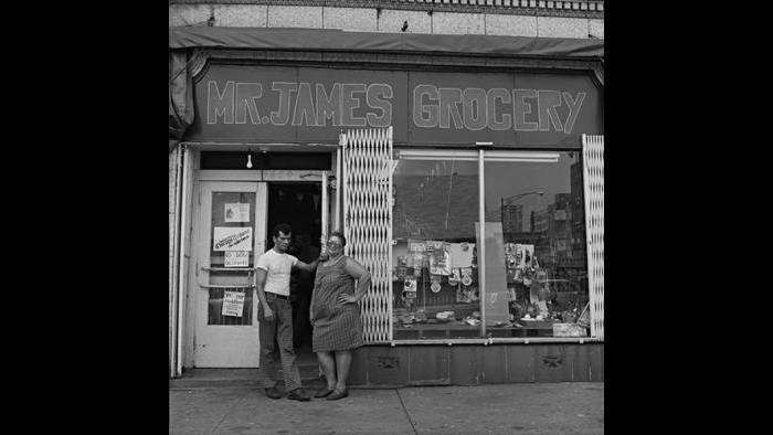 Shop owners, Uptown 1978/79 (David Gremp)
