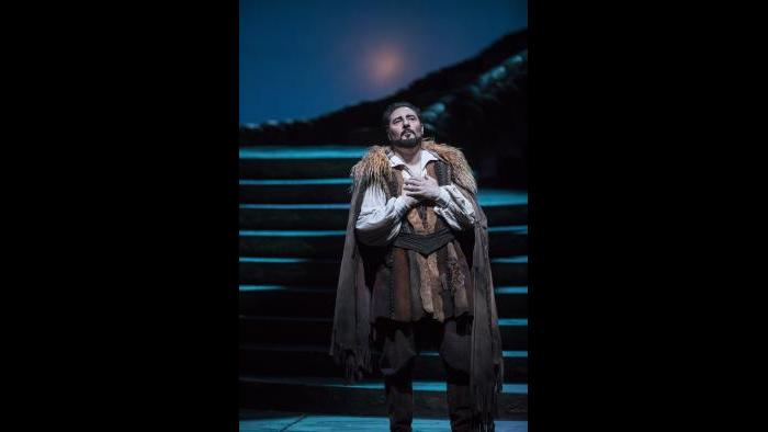 "Stefano La Colla in ""Turandot"" (Courtesy of Lyric Opera Chicago)"