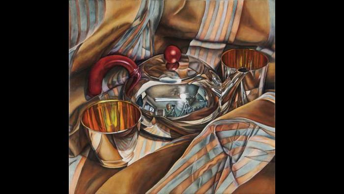 Jeanette Pasin Sloan, Teapot Small. (Courtesy Jeanette Pasin Sloan)