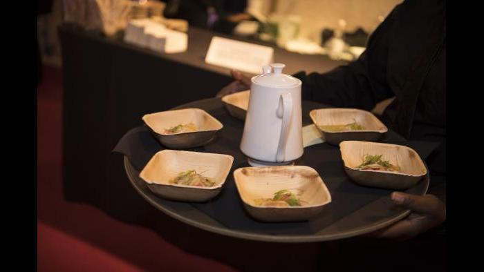 The ceremony included a dinner reception for VIP attendees. (Courtesy of James Beard Foundation)