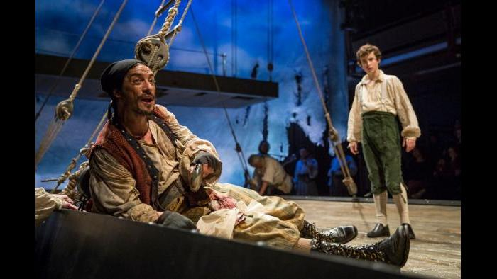 """""""Treasure Island,"""" adapted and directed by Mary Zimmerman. (Liz Lauren)"""