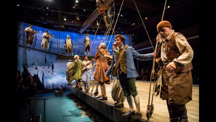 """""""Treasure Island,"""" adapted and directed by Mary Zimmerman. (Courtesy of Liz Lauren)"""