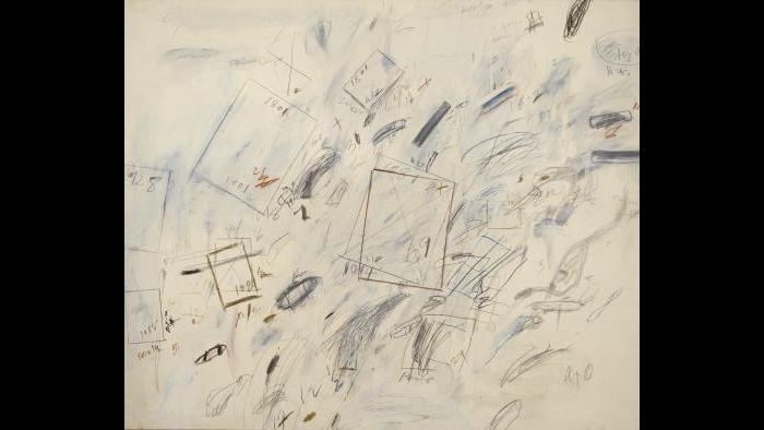 Cy Twombly. Untitled (Bolsena), 1969. (Courtesy of the Art Institute of Chicago, Gift of Edlis/Neeson Collection)