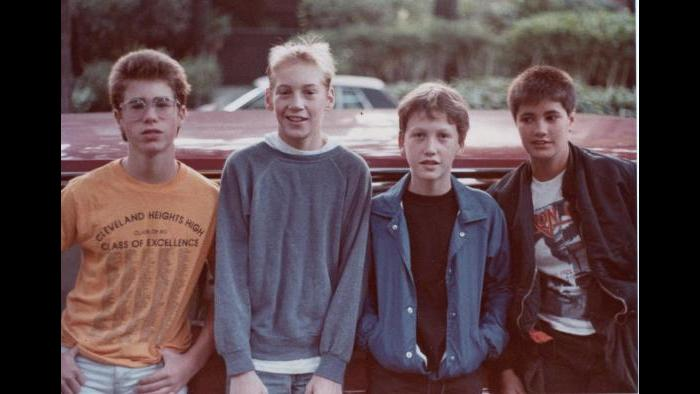 The Chicago band Verboten in the 1980s. (Courtesy of Jason Narducy)
