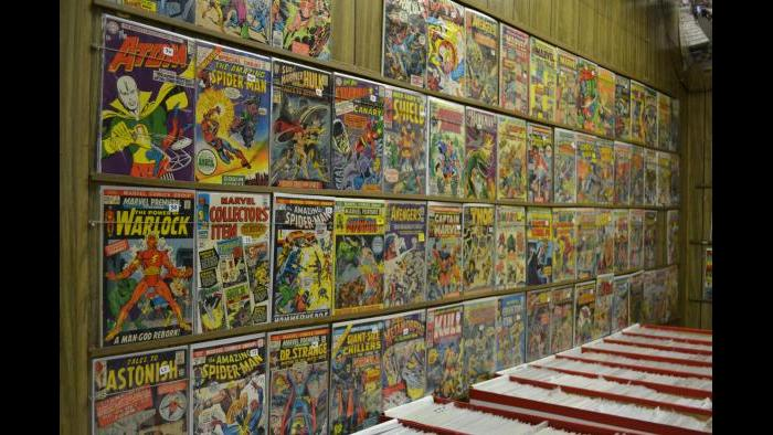 Comics for sale at Variety Comics. (Photo/ Kristen Thometz)
