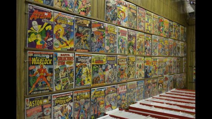 Comics for sale at Variety Comics. (Photo/ Kristen Thometz)