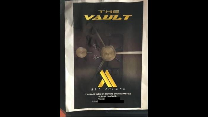 A large party hosted by The Vault/All Access was shut down early Sunday, Nov. 29, 2020, city officials said. (Courtesy City of Chicago)