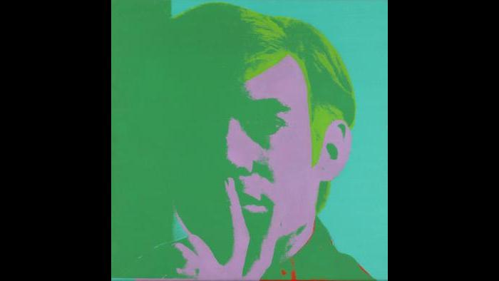 Andy Warhol. Self-Portrait, 1966. (Courtesy of the Art Institute of Chicago, Gift of Edlis/Neeson Collection)