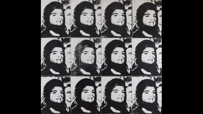 Andy Warhol. Twelve Jackies, 1964. (Courtesy of the Art Institute of Chicago, Gift of Edlis/Neeson Collection)