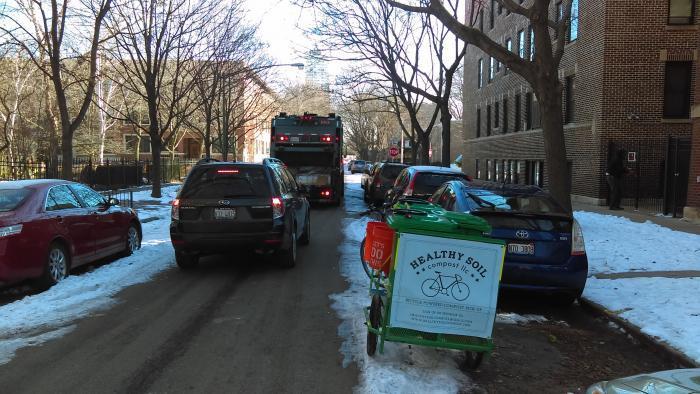 Making a pickup in winter. (Courtesy Jonathan Scheffel)