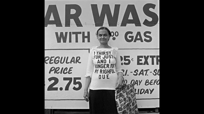 Woman, Uptown 1978/79 (David Gremp)