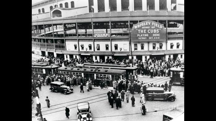 Wrigley Field in 1949.