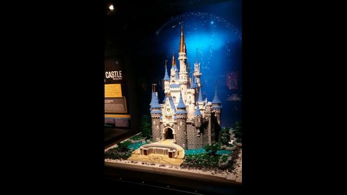 Tucker's model of Cinderella's Castle (Adwoa Anom)