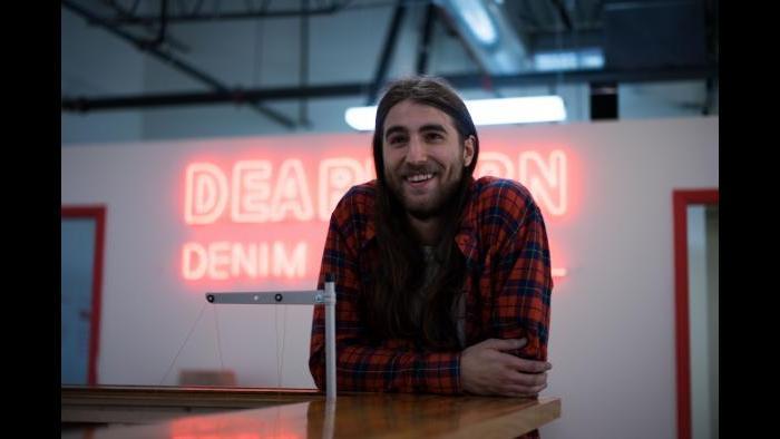 Dearborn Denim head of retail Kaleb Sullivan (Credit: Get it Got)