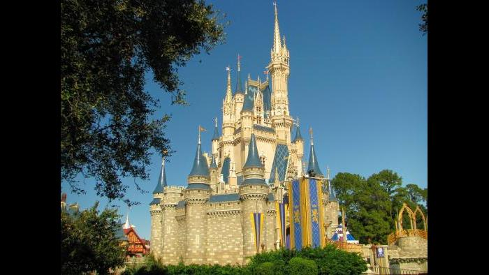Walt Disney World is home to Cinderella's Castle, which is based on different castles in Europe.