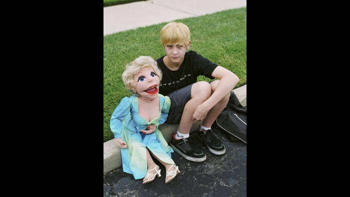 Seth Walentowski at the 2014 Vent Haven Ventriloquist Convention (Estelle Hanania)