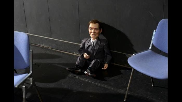 "Dummy from ""The Ventriloquists Convention"" (Estelle Hanania)"
