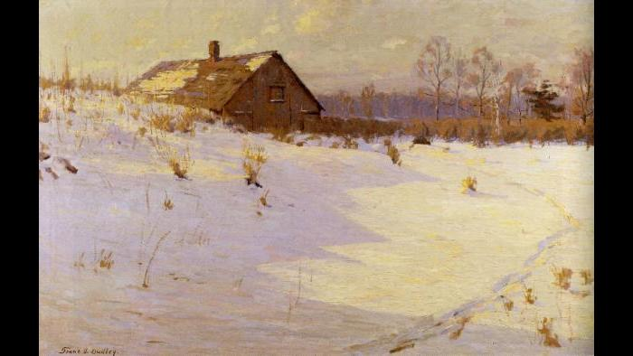 """One Winter's Afternoon,"" 1914. Union League Club of Chicago"