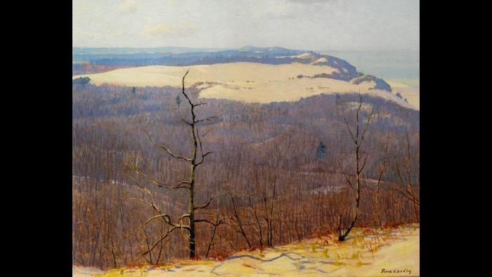 """From Mt. Tom,"" 1918. South Bend Regional Museum of Art"