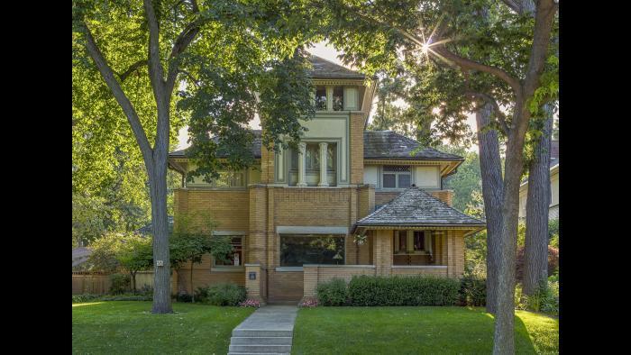 The Rollin Furbeck House in Oak Park, Illinois.