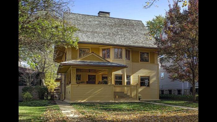 The Goodrich House in Oak Park, Illinois.