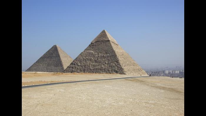 The Great Pyramid of Giza in Egypt is one of the Seven Wonders of the Ancient World and stands at 455 feet. (Keith Yahl / Flickr)