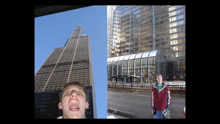 David Kaplinsky in Chicago for the first time.
