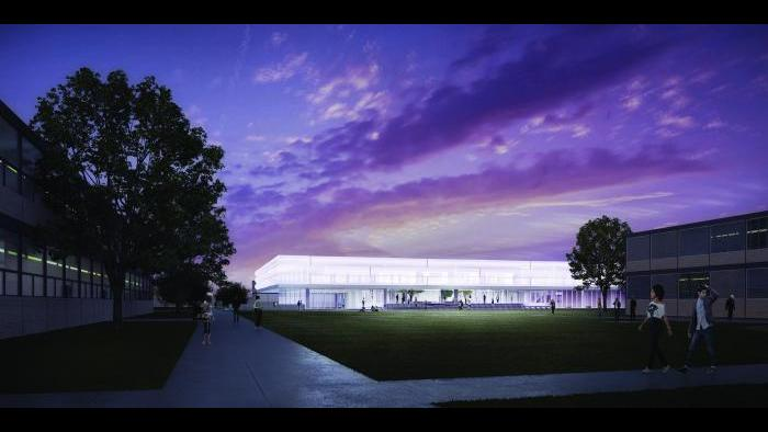 (Illinois Institute of Technology / John Ronan Architects)