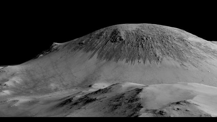 RSL at Horowitz Crater. Photo by NASA/JPL-Caltech/University of Arizona