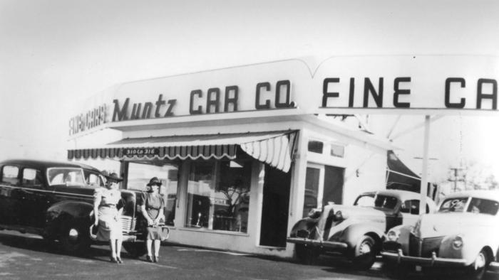 The Muntz Dealership