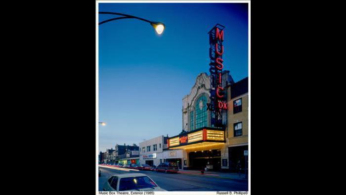 The Music Box Theatre, 1984. (Courtesy of Music Box Theatre)
