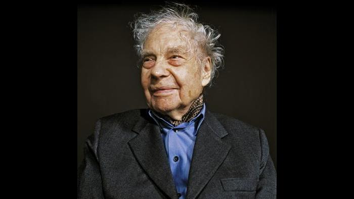 Merce Cunningham, 2008. (Cameron Wittig, courtesy of Walker Art Center, Minneapolis)