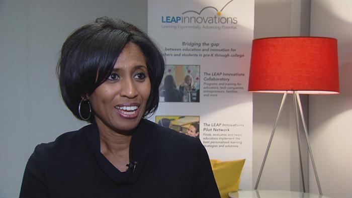 Phyllis Lockett, founder of LEAP Innovations