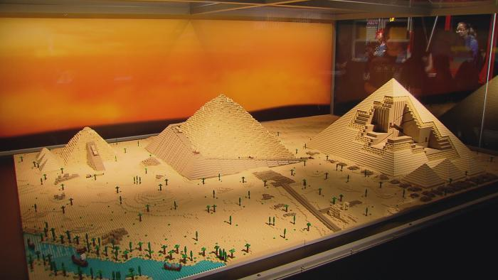 Tucker's model of the Great Pyramid of Giza