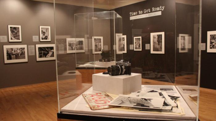 "The ""Time to Get Ready"" exhibit runs through July 30. (Courtesy of Cesareo Moreno)"