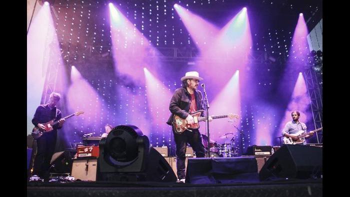 Wilco performs at Pitchfork in 2015. (Erez Avissar / Pitchfork)