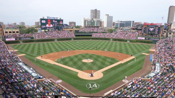 Wrigley Field in 2015. (Jason Hernandez)