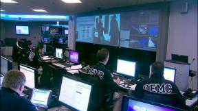 Inside the NATO Communications Center