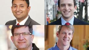 Vivek Bavda, Ilya Sheyman, Brad Schneider and John Tree