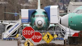 In this Monday, Dec. 16, 2019, file photo, Boeing 737 Max jets sit parked in Renton, Wash. (AP Photo / Elaine Thompson, File)