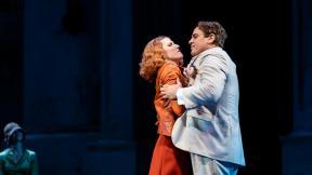 "Amanda Majeski and Lucas Meachem in Lyric Opera of Chicago's ""Don Giovanni."" (Photo by Kyle Flubacker)"