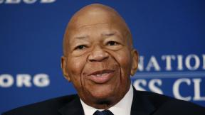 In this Aug. 7, 2019, file photo, Rep. Elijah Cummings, D-Md., speaks during a luncheon at the National Press Club in Washington. U.S. Rep. Cummings has died from complications of longtime health challenges, his office said in a statement on Oct. 17, 2019. (AP Photo / Patrick Semansky, File)