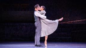 "Greig Matthews and Amanda Assucena in Joffrey Ballet's production of ""Jane Eyre."" (Photo by Cheryl Mann)"